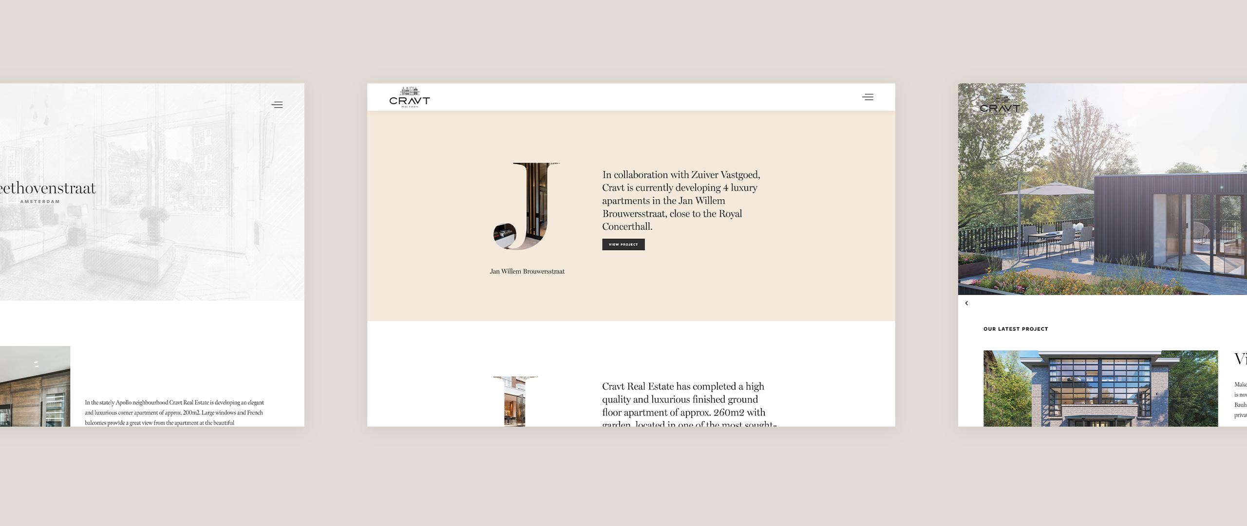 cravt realestate website 1